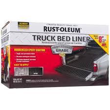 100 Diy Spray On Truck Bed Liner RustOleum Automotive 120 Oz Professional Grade Black Kit