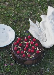 schokolade himbeer kuchen torta cioccolato e loni