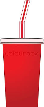 Illustration of a soda pop paper cup Stock Vector