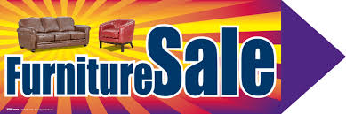 Spinner Sign Message Furniture Sale Min 3 Mix Match