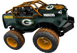 100 Monster Trucks Green Bay Amazoncom Officially Licensed NFL Remote Control Truck
