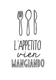 Italian Kitchen Poster Art Print By ShufflePrints