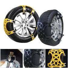 10pc/Set Snow Tire Anti-Skid Chains Car SUV Van Winter Emergency Ice ...