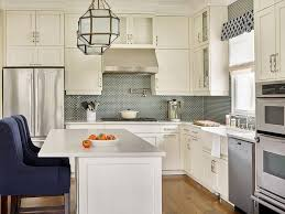 chic kitchen features cabinets and white lower
