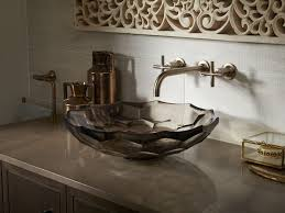 Kohler Vox Sink Images by Kohler Vessel Sink Faucets For Bathrooms Vox Square Semi