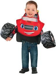 Blaze & The Monster Truck: Blaze Child Costume - Kids Halloween Costumes