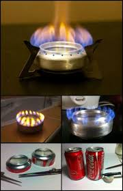 Sterno Candle Lamp Butane Stove by Best 25 Soda Can Stove Ideas On Pinterest Camping Nice Cheap