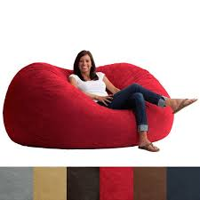Enjoy Downtime Reclining In The FufSack Bean Bag Chair It Is Filled With Memory Foam And Polyurethane Blend That Ultra Plush