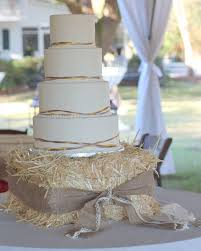 Simple Country Wedding Cake Designs