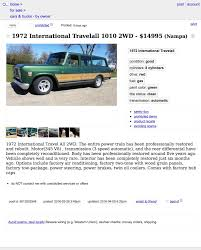 For $14,995, This 1972 International Travelall Might Go All The Way Used Ford Edge For Sale Boise Id Cargurus How To Leave Craigslist Arizona Cars And Trucks By Owner Twenty New Images Medford Semi Birmingham Alabama With Apu 10 Phx Rituals You The Collection Of U Mini Truck Japan Unique Food Carts For Sales Idaho Coloraceituna Indiana Tutorial Youtube Dodge A100 In Greensboro Pickup Truck Van 641970 Chrcraigslist Oc Fniture Dressers Does This Bother Anyone Else 2nd Generation Nonpowertrain