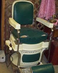 Koken Barber Chair Vintage by Nostalgia Showroom Jukeboxes And More