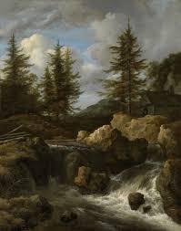 100 Rocky Landscape FileA Waterfall In A By Jacob Van Ruisdaeljpg