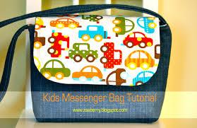 zaaberry kid u0027s messenger bag tutorial