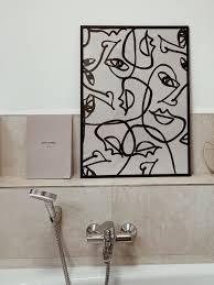 wanddeko livingchallenge badezimmer toninton c