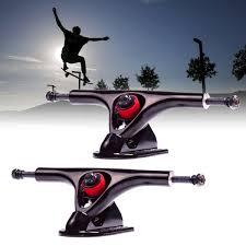 100 Parts Of A Skateboard Truck 1 Pair 180mm 7 43 Degree Longboard Trucks Electric Skateboard