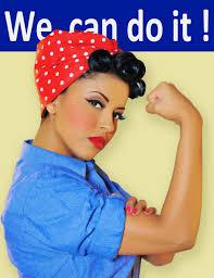 Rosie The Riveter Halloween Diy by Rosy The Riveter Makeup Look Vintage Pinterest Makeup