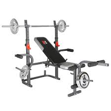 Costway Costway Weight Lifting Bench Fitness Body Workout Home