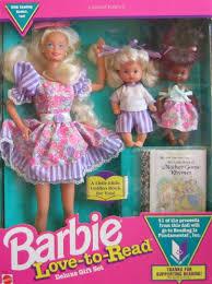 Amazoncom Mattel Barbie Love To Read Deluxe Gift Set W 3 Dolls