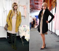 Street Style At The Vintage Fashion Expo