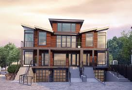 100 Contemporary Townhouse Design Killingsworth 3