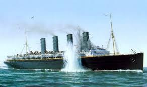 Vca Cacoosing Sinking Spring by 13 Rms Lusitania Wreck Photos Lanzarote S Shipwreck