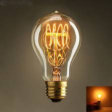 vintage retro edison filament light bulb l e27 40w 220v
