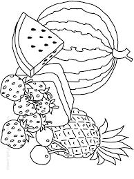 Preschool Fruits And Vegetables Coloring Pages Cornucopia Veggies Download Fruit Vegetable Printable Full Size