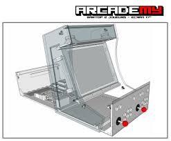 Mame Arcade Bartop Cabinet Plans by 100 Bartop Arcade Cabinet Plans 100 Mame Arcade Bartop