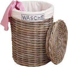 home affaire wäschekorb aus rattan kaufen otto