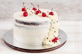 Download Rustic Wedding Cake Stock Photo Image Of Dessert Orange