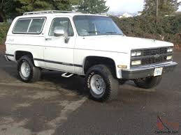 100 1988 Chevy Truck For Sale 1989 Chevrolet Blazer K5 Silverado 4X4 1990 1987 1986 1985 1984