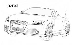 Car Coloring Pages To Print Web Art Gallery