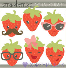 cute strawberry clipart 4