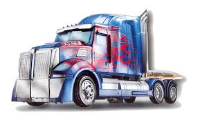 100 Optimus Prime Truck Model Hound Transformers Autobot PNG Free