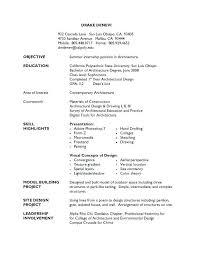 Psychology Resume Templates Graduate School