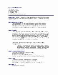 Example Of Resume Objectives Unique Objective Examples Hospitality Management Samp Sevte