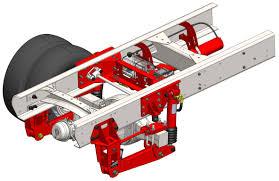 100 Air Ride Truck Suspension Freightliner M2S2S2C Bus Liquid Spring LLC