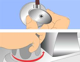 Moen Bathroom Faucet Aerator Removal Tool by How To Replace A Bathroom Faucet Handle With Pictures Wikihow