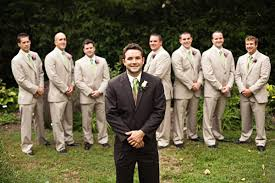 Have The Groom Wear A Different Suit Than Groomsmen