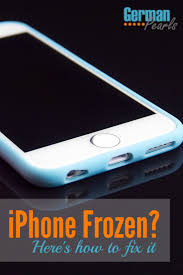 iPhone Frozen Here s How to Fix It