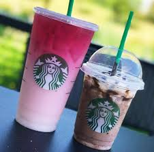 Ombre Pink Drink Starbucks