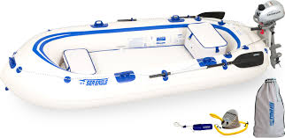 Intex Excursion 5 Floor Board by Sea Eagle Se9 4 Person Inflatable Boats Package Prices Starting