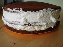 dessert avec creme fouettee creme chantilly pour recouvrir gateau arts culinaires magiques