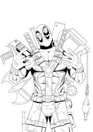 Lego Black Panther Coloring Pages Free