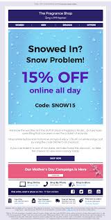 Weather Based Email With Discount Coupon Code From The ... 30 Off Makeup Revolution Pakistan Coupons Promo Timedayroungschematic80 Evoice Australia Netball Uk On Twitter Get An Extra 10 Off All 6pmcom Code Off Levinfniturecom 6pm Coupon Promo Codes September 2019 6pm Discount Coupon Www Ebay Com Electronics Promotions Daddyfattymummy Codes December 2018 Recent Discounts Browse Abandon Email From Emma Bridgewater With How To Shoes Boots At