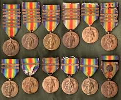 Awards And Decorations Us Army by The Wwi Victory Medal Series U2013 United States Collectors Weekly