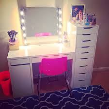 Makeup Vanity Table With Lights And Mirror by Vanity Desk With Mirror And Lights Diy Vanity Mirror With