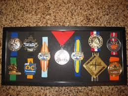 Marathon Medal Display Case