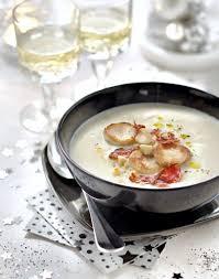 cuisine boudin blanc crème de chou fleur au boudin blanc régal