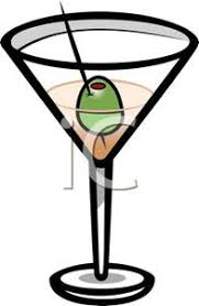 Picture An Olive In a Martini Glass